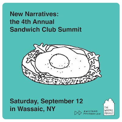 4th Annual Sandwich Club Summit: New Narratives